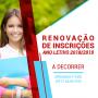 Renovação de Inscrições para o Ano Letivo 2018/2019 - A Decorrer