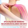 Aplicação de Bandas Neuromusculares